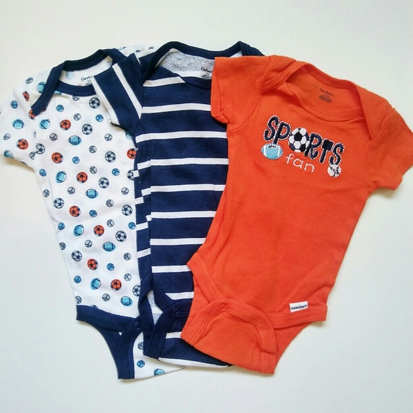 8af13c12e Gerber One Pieces | Baby Boy Onesies 03 Months | Poshmark